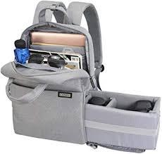 CADeN <b>Camera</b> Backpack Bag for <b>DSLR</b>/<b>SLR Waterproof</b> w/14