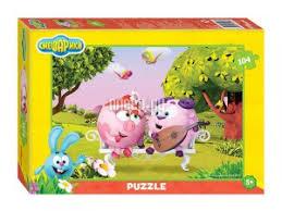 <b>Пазл Step Puzzle Смешарики</b> 82153