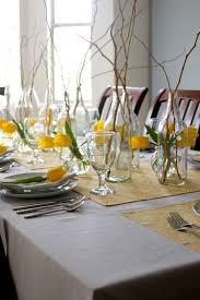 floral decor spring table