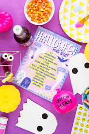 Hey Ghoul Hey: How To Throw A <b>Halloween</b> Girl's <b>Night</b> - Studio <b>DIY</b>