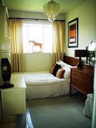 chic small bedroom decorating idea feat traditional bedside cabinet with black lamp shade feat wood headboard chic small white home