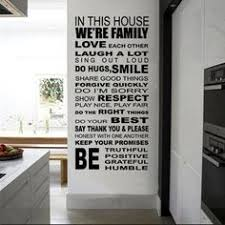 House Rules | Homestyle | Vinyl <b>wall decals</b>, <b>Vinyl</b> wall stickers, Wall ...