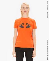 Helmut Lang Women's <b>Printed Halloween</b> T-Shirt in <b>Pumpkin</b> ...