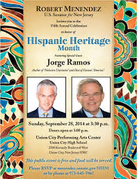 sen robert menendez th annual hispanic heritage month robert menendez 5th annual hispanic heritage month celebration