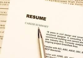 myths about writing your resume