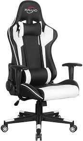 Polar Aurora <b>Gaming</b> Chair Racing Style High-Back PU <b>Leather</b>