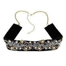 Buy ShalinIndia Black <b>Resin</b> Beads Brass Metal <b>Waist Belt</b> Chain for ...