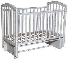 <b>Кроватка Антел Алита</b>-3/5 (классическая), универсальный маятник