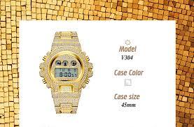 MISSFOX Citizen Movement Digital <b>Men's Watches</b> Luxury Brand ...