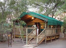 Tent at Nata Lodge Botswana
