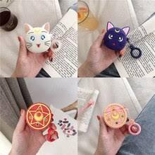Чехол <b>Sailor Moon Luna</b> Cat Tsukino Usagi для наушников ...