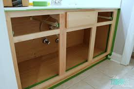 how to make kitchen cabinets: the average diy girls guide to painting cabinets tape it off diy