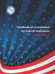 manuals council on occupational education 2016 handbook of accreditation for federal institutions