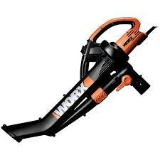 electric trivac leaf mulcher blower patio vacuum  worx  mph electric trivac blower mulcher vac