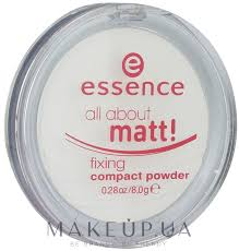 <b>Essence</b> All About Matt! Fixing Compact <b>Powder</b> - Компактная ...