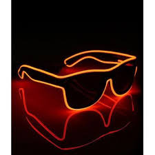 Buy <b>Smart LED</b> EL Wire Glasses <b>Light</b> Up <b>Glow Glasses</b> Shades for ...
