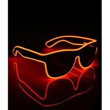 Buy <b>Smart LED</b> EL Wire Glasses <b>Light</b> Up <b>Glow Glasses</b> Shades for ...
