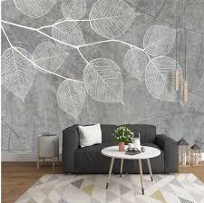 3D 5D 8D <b>Modern Light Grey Wallpapers</b> for Walls Photo Wall ...