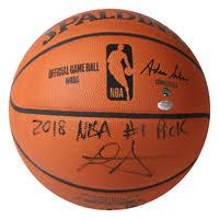 DEANDRE <b>AYTON</b> Autographed 2018 NBA #1 Pick Puma Clyde ...