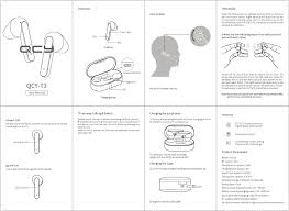 Dongguan Hele Electronics QCY-T3 <b>TWS Bluetooth earphones</b> ...