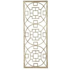 mirror wall decor circle panel: golden circles wall panel color gold quotw x quotd