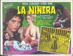 the jumping frog rare used and out of print books magazines la ninera the babysitter poster 1975 maria schneider