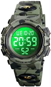 7-Color Kids Boys <b>Digital Watches</b>, Waterproof <b>Outdoor Sports</b> ...