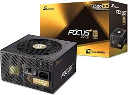 Seasonic FOCUS Plus <b>1000</b> Gold SSR-1000FX 1000W <b>80</b>+ Gold