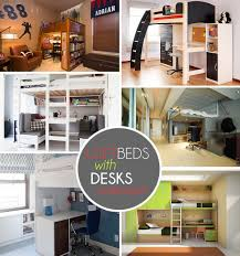 loft beds with desks underneath bed with office underneath