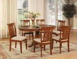 Dining Room Table 6 Chairs Oval Dining Room Table Sets Details About 7 Pc Oval Dinette Dining