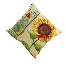 <b>Sunflower Square</b> Pillow Case,TianranRT V- Buy Online in Israel at ...