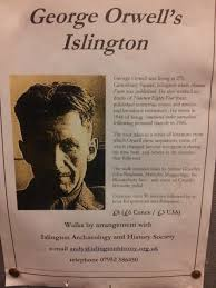 andy gardner historian islington faces andy gardner s flyer for his george orwell walk