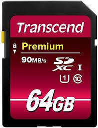 Transcend 64GB SDXC Class 10 Uhs-1 Flash ... - Amazon.com