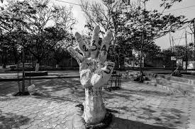 the unspeakable violence of caste lessons from for hyderabad a sculpture at the velivada on the campus of the university of hyderabad