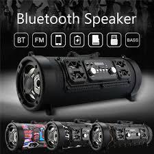 Portable Bluetooth Speaker Wireless Stereo Super Bass <b>HIFI</b> AUX ...