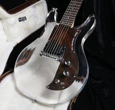 22Custom Shop 6 Strings Dan <b>Electric</b> Guitar <b>Crystal Guitar Acrylic</b> ...