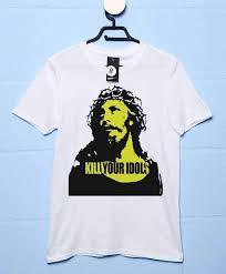 As Worn By <b>Axl Rose</b> Mens <b>T Shirt</b> - Kill Your Idols | 8Ball <b>T Shirts</b>