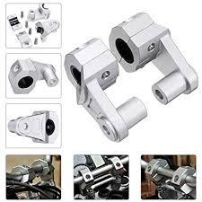 MOTOBA Motorcycle Handlebar Risers CNC Aluminum <b>Alloy</b>