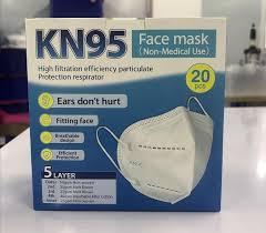 China KN95 Face Mask Respirator <b>Effectively Block</b> Flu Germ Smog ...