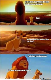 He Was Right!!!! Oh Mufasa Why! by loldelboy - Meme Center via Relatably.com