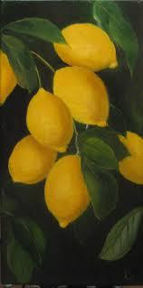 lemon tree x: lemon tree  x  oil on canvas sold
