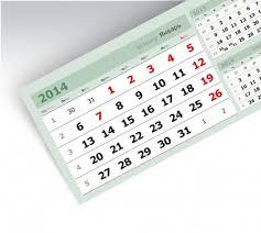 <b>Календарные блоки</b> для квартальных календарей