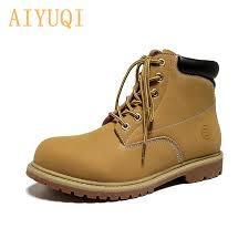 <b>AIYUQI</b> 2019 autumn new genuine leather Martin <b>boots women flat</b> ...
