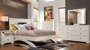 creek bedroom set pc queen white