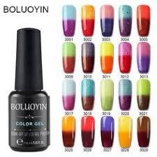 <b>BOLUOYIN</b> Semi Permanent <b>29 Colors</b> UV <b>Gel</b> Nail Lacquer Need ...