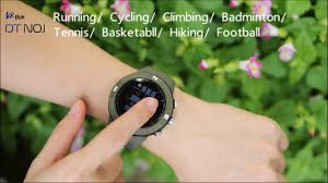 NO.1 F18 Outdoor GPS <b>Sport Smartwatch</b> Display Functions ...