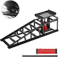 BestEquip Hydraulic Car Ramp 11000lbs, Hydraulic ... - Amazon.com
