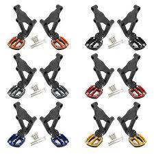 Sponsored(eBay) Motorcycle Folding <b>Footrests Foot Pegs</b> Rear ...