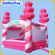 Aliexpress.com : Buy Hot Pink 4mx3m <b>Inflatable</b> Candy Floss Stand ...