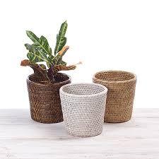 URU <b>Rattan Flower</b> Planter | URU Home | Ratten Baskets | Wooden ...